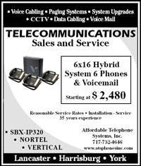 Check out our current discounts on entire professional phone systems.